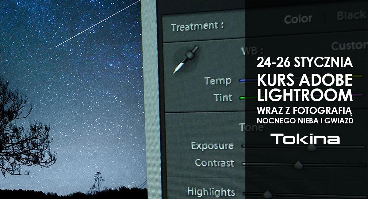 kurs fotograficzny Adobe Lightroom