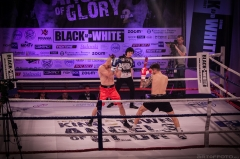 Adrian Ahmad - debiut na ringu bokserskim 1