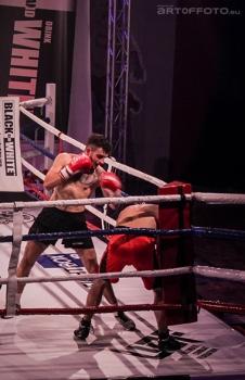 Adrian Ahmad - debiut na ringu bokserskim 6