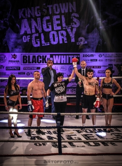Adrian Ahmad - debiut na ringu bokserskim 7