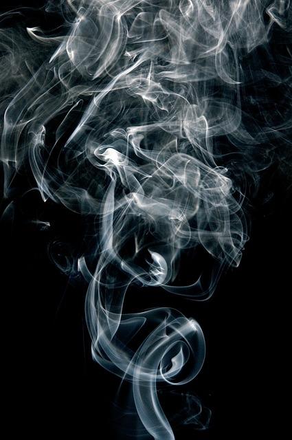 fotografowanie dymu