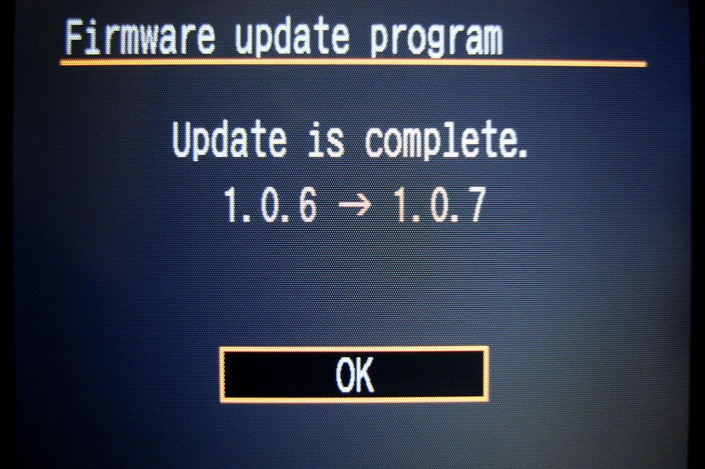 Aktualizacja firmware aparatu