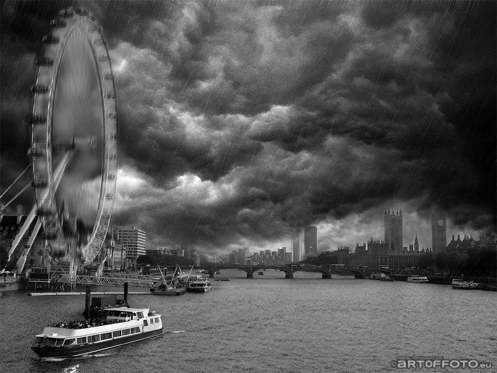 Dynamiczny Londyn by artoffoto.eu after